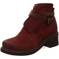 Schuhe Damen Stiefel Macakitzbühel Stiefeletten 2310 BORDO rot