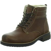 Schuhe Herren Stiefel Longo SCHNÜRSTIEFEL 1013635-3 (G) braun