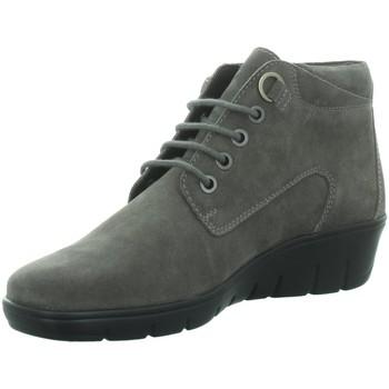 Schuhe Damen Boots Diverse Stiefeletten Beq.Schnür/Schlupfstf 1014827 grau