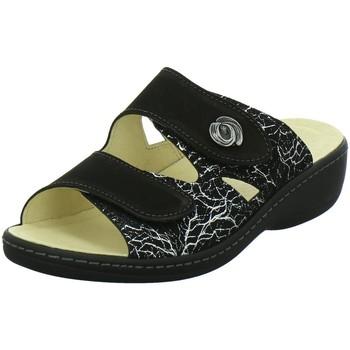 Schuhe Damen Pantoletten / Clogs Longo Pantoletten PANTOLETTE 1005349-0 (G) schwarz