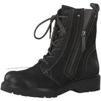 Schuhe Damen Stiefel Be Natural Stiefeletten 8-8-25206-21/001 schwarz