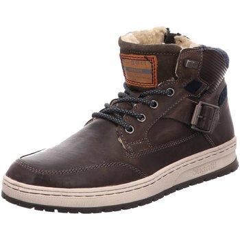 Schuhe Herren Boots Bugatti 321334543200 1100 grau