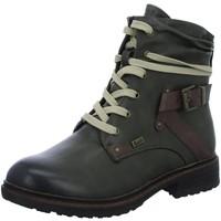 Schuhe Damen Wanderschuhe Rieker Stiefeletten 2419 94740-54 grün