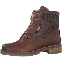 Schuhe Damen Stiefel Jana Stiefeletten Be Natural 88 26229 21 305 braun