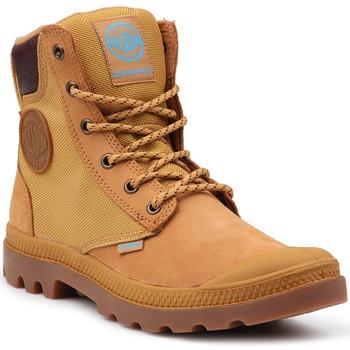 Schuhe Damen Boots Palladium Lifestyle Schuhe  Pampa Sport Cuff WPN 73234-228-M gelb