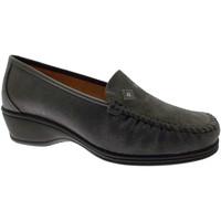 Schuhe Damen Slipper Calzaturificio Loren LOK3992gr grigio