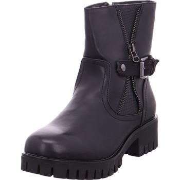 Schuhe Damen Boots Stiefelette - 99370-00 sch/sc/sch 00