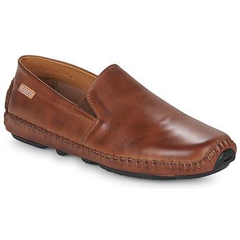 Schuhe Herren Slipper Pikolinos JEREZ 09Z Braun