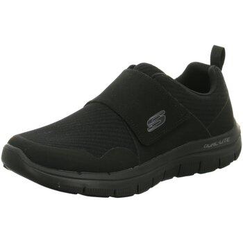 Schuhe Herren Slip on Skechers Slipper FLEX ADVANTAGE 2.0 52183-BBK schwarz