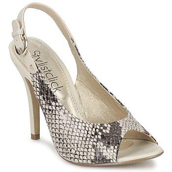 Schuhe Damen Sandalen / Sandaletten StylistClick RUTH Beige / Celadon
