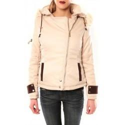 Kleidung Damen Jacken Sweet Company Blouson Flamant Rose 8A161 Beige Beige