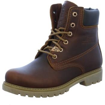 Schuhe Damen Wanderschuhe Panama Jack Stiefeletten P8 Panama 03 Wool B9 braun