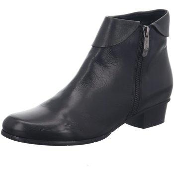 Schuhe Damen Stiefel Regarde Le Ciel Stiefeletten Stefany-03 Stiefelette STEFANIE03/003BLACK schwarz