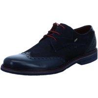 Schuhe Herren Derby-Schuhe Daniel Hechter Schnuerschuhe Lac Light Schnürschuhe 811-53503-1134-4141 blau