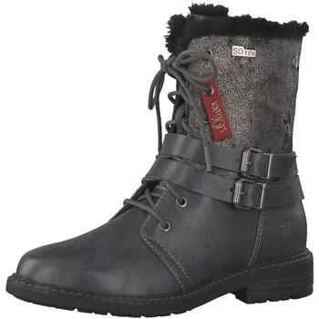 Schuhe Mädchen Stiefel S.Oliver Schnuerstiefel Ki.-Stiefel 5-5-46214-21-214 grau