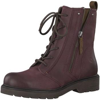Schuhe Damen Stiefel Be Natural Stiefeletten 8-8-25206-21/549 rot