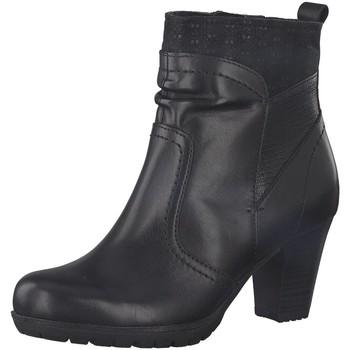 Schuhe Damen Ankle Boots Jana Stiefeletten Woms Boots 8-8-25304-21/001 schwarz