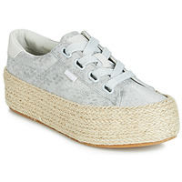 Schuhe Damen Sneaker Low MTNG WANDA Silbern