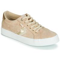 Schuhe Damen Sneaker Low MTNG ROLLING Beige