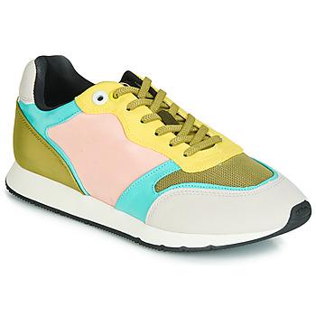 Schuhe Damen Sneaker Low MTNG HANNA Rose / Gelb / Türkis