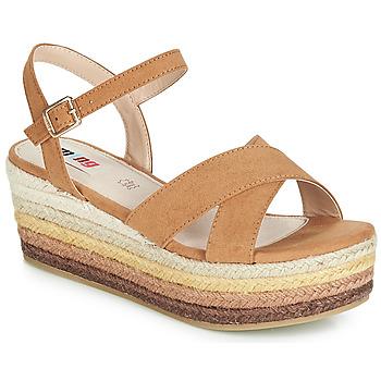 Schuhe Damen Sandalen / Sandaletten MTNG SOCOTRA3 Braun
