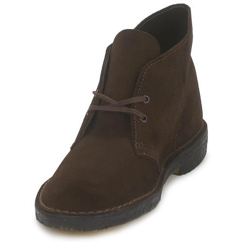 Clarks DESERT BOOT Braun  Schuhe Boots Herren 139