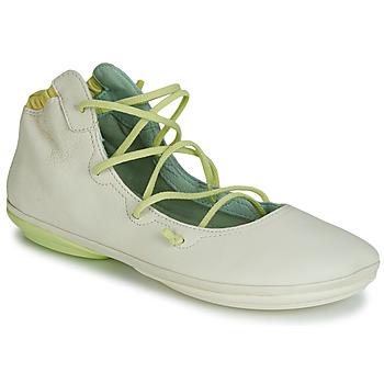 Schuhe Damen Ballerinas Camper RIGHT NINA LACE Beige