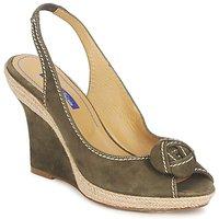 Schuhe Damen Sandalen / Sandaletten Atelier Voisin ALIX Kaki