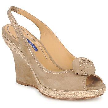 Schuhe Damen Sandalen / Sandaletten Atelier Voisin ALIX Maulwurf