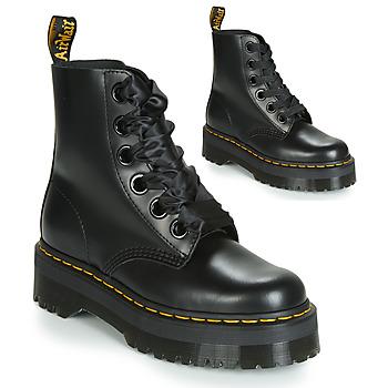 Schuhe Damen Boots Dr Martens Molly Schwarz
