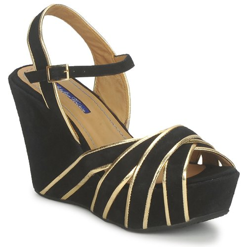 Schuhe Damen Sandalen / Sandaletten Atelier Voisin FACTOR Schwarz