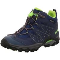 Schuhe Jungen Wanderschuhe Meindl Bergschuhe Tuam Junior Wanderschuh  2094-009 blau