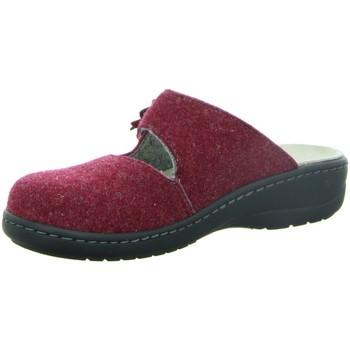 Schuhe Damen Hausschuhe Longo Hausschuh 30.550 rot