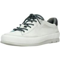 Schuhe Damen Sneaker Low Wolky Schnuerschuhe Katla Savana leather Offwhite 0192630120 weiß