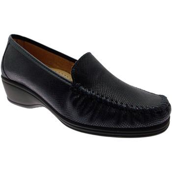 Schuhe Damen Slipper Calzaturificio Loren LOK3979bl blu