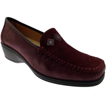 Schuhe Damen Slipper Calzaturificio Loren LOK3992bo blu