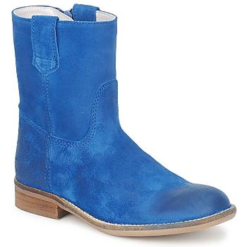 Schuhe Mädchen Boots Hip DIRAN Blau