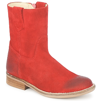 Schuhe Mädchen Boots Hip DIRAN Rot