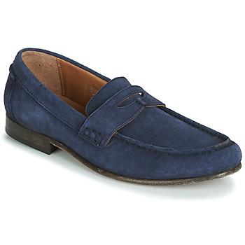 Schuhe Herren Slipper Hudson SEINE Blau