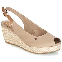 Schuhe Damen Sandalen / Sandaletten Tommy Hilfiger ELBA 39D2 Beige