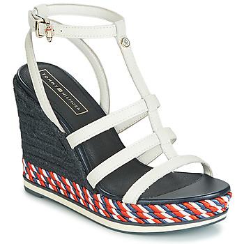 Schuhe Damen Sandalen / Sandaletten Tommy Hilfiger VANCOUVER 7A Weiss