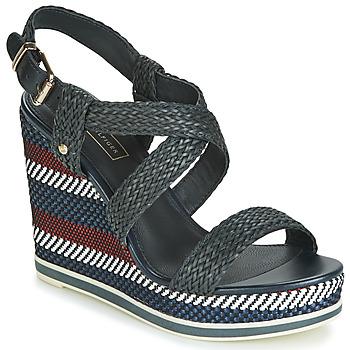 Schuhe Damen Sandalen / Sandaletten Tommy Hilfiger VANCOUVER 9Y Marine