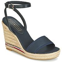 Schuhe Damen Sandalen / Sandaletten Tommy Hilfiger ELENA 78C1 Marine