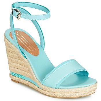 Schuhe Damen Sandalen / Sandaletten Tommy Hilfiger ELENA 78C Blau / Himmelsfarbe