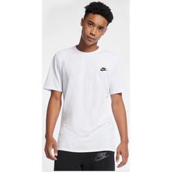 Kleidung Herren T-Shirts Nike Air Icon T-Shirt - White / Black 1