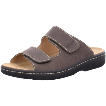Schuhe Damen Sandalen / Sandaletten Longo Pantoletten 1006509 braun