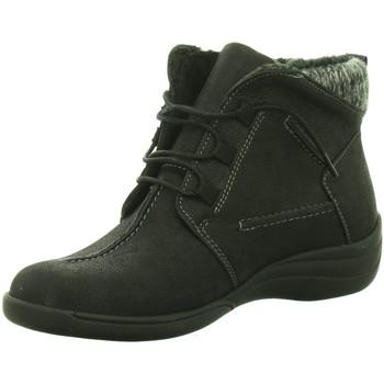 Schuhe Damen Schneestiefel Longo Stiefeletten Beq.Schn?r/Schlupfstf 1005453 schwarz