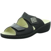 Schuhe Damen Pantoffel Longo Pantoletten Beq-Pantl-Wörishf-30 1010486 0 schwarz