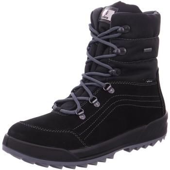 Schuhe Damen Schneestiefel Vista Stiefeletten Winterboot zum Schnüren 11-31366 schwarz