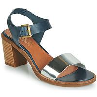 Schuhe Damen Sandalen / Sandaletten Casual Attitude JALAYEVE Blau / Silbern